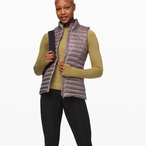 NWT pack it down vest  shine lunar rock sz 6 $148